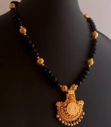 Buy Laxmi necklace set -74(temple jewellery) necklace-set online