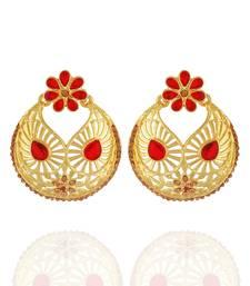 Buy Marvelous Chandbali Alloy Ear Hangings for Girls & Women danglers-drop online