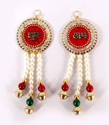 Buy Shubh labh pearl hanging diwali-decoration online