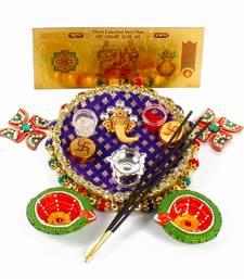 Buy Ganesha pooja thali hamper for diwali diwali-gift online