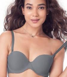 Buy Multicolor cotton seamless bra bra online