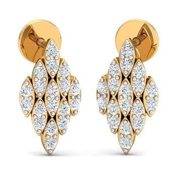 0.2ct diamond studs 18kt gold earrings