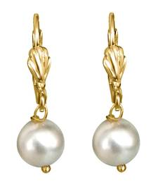 Buy Special fancy unique pearl earrings danglers-drop online