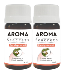 Buy Eucalyptus oil (30ml) - pack of 2 essential-oil online
