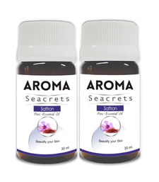 Buy Saffron pure essential oil (30ml) - pack of 2 essential-oil online