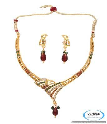 Vendee Diamond fashion necklace jewelry 6782