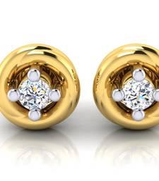 Buy 0.224ct Yellow Diamond gemstone-earrings gemstone-earring online