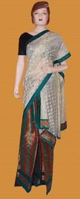 Chanderi silk mekhela Chadar