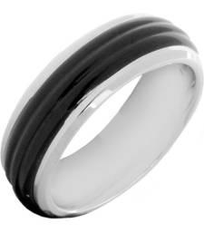 Buy Black silver plated rings Ring online