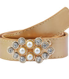 "Buy "" Beige Color"" Belt Combo For Womens gifts-for-sister online"