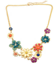 "Buy "" Fashion Is The Instant Language"" Statement Necklace  For Women's collar-necklace online"