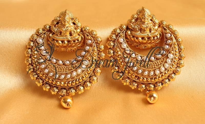 Buy Gorgeous Kemp Ram Leela Earrings Online