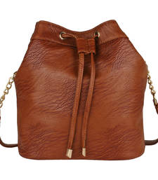 Buy Rust PU Abela Sling Bag sling-bag online