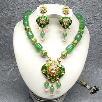 kundan meenakari jewellery