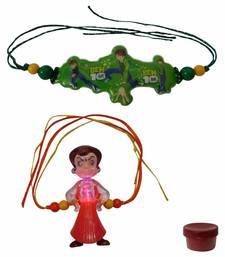 Buy Kids favourite character rakhi of two kids-rakhi online