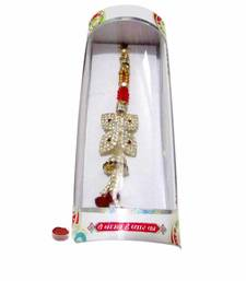Buy Charismatic bond of love send-rakhi-to-canada online