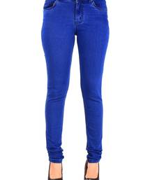 Buy Readymade Skinny Casual Jeans with Solid Design. western-wear online