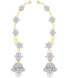 Buy Multicolor diamond ear-cuffs ear-cuff online