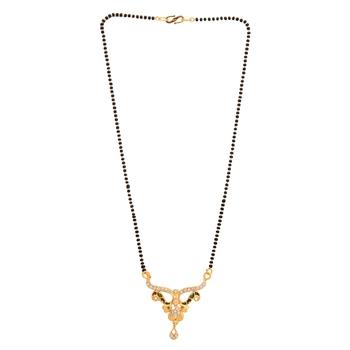 M4U Fashion Golden Mangalsutra