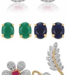 Buy Multicolor cubic zirconia jewellery-combo jewellery-combo online