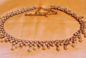 royal stone gold plated waistbelt