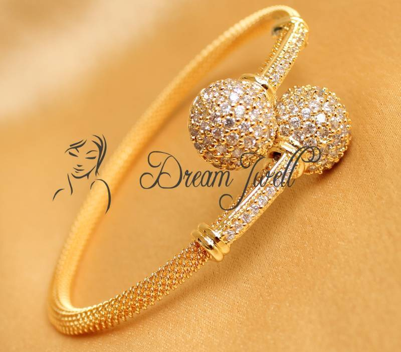 gold beautiful bracelet jewellery weaves bangle pin pinterest on