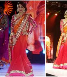 Buy Bollywood malaika Arora khan at iifa Award Lehenga Style saree malaika-arora-khan online