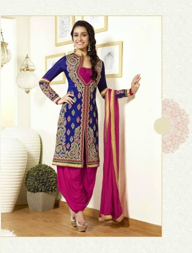 Buy Shraddha Kapoor Patiyala Style Attire Online