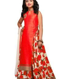 Buy red printed bhagalpuri kids lehenga chol kids-lehenga-choli online