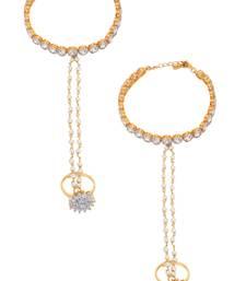 Buy Multicolor american diamonds Hath Phool haath-phool-hath-panja online