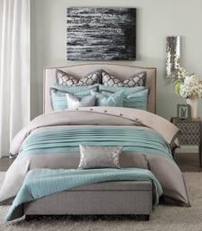 Buy multicolor satin and cotton plain duvet-covers duvet-cover online