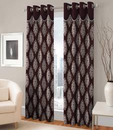 Buy Long  Door Eyelet  Curtain Set Of 2 curtain online