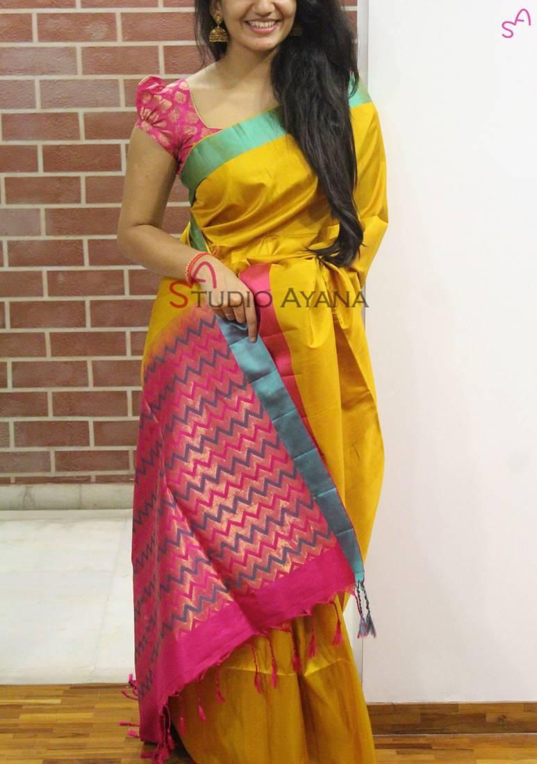 Buy Multicolor Women S Zarna Silk Designer Sarees Online