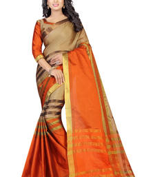Buy Multicolor printed georgette saree with blouse below-1500 online