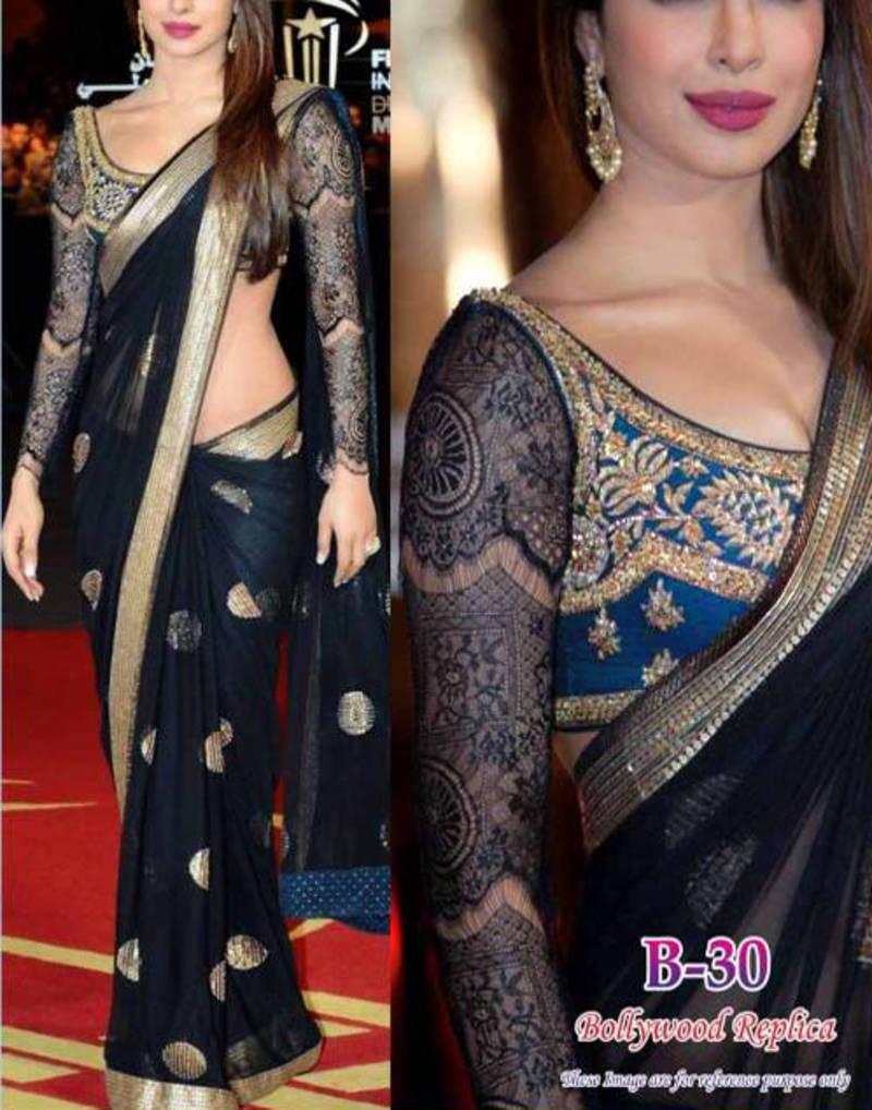 priyanka chopra wearing saree - photo #34