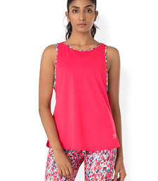 Buy Pink workout gym wear Muscle Tee workout-gym-wear online