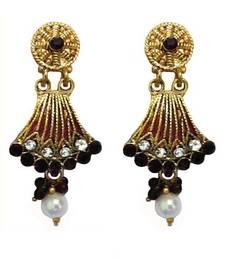 Buy Multicolor crystal earrings jewellery-below-300 online