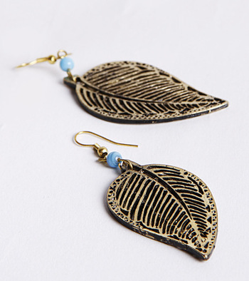 Oxidized Blue danglers