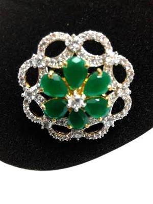 stylish emerald ring
