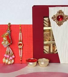 Buy Lumba Rakhi Set with Assorted Chocolates rakhi-gift-hamper online