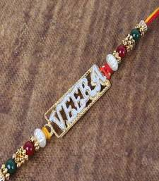 Buy Designer Veera Rakhi for Brother precious-rakhi online