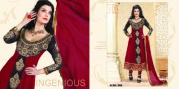 Styloce Maroon Color Designer Salwar Kameez .STY-101-206
