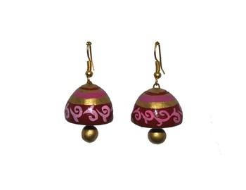 Handmade Terracotta  Earring