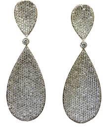 Buy Vatika beautiful american diamond earring danglers-drop online