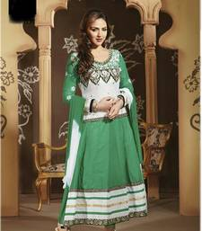 Buy Styles Closet light green anarkali suit semi-stitched-salwar-suit online