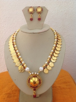 Antique kundan temple laxmi jewellery for sale