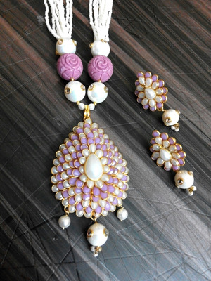 smart look pacchi pearl necklace