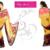 Georgette Yellow/ Purple/ Pink Saree