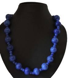 Buy Blue agate necklaces jewellery-below-300 online