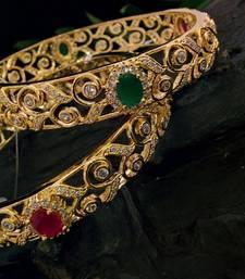 Buy Zirconia stones bangles bangles-and-bracelet online
